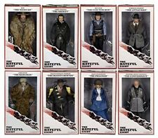 "NECA The Hateful Eight Movie-8"" Cloth Figures--FULL SET, MIB NEVER OPENED"