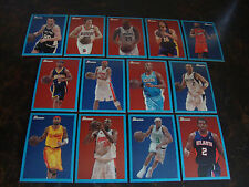2009-10 Bowman Basketball---Blue---Lot Of 13---No Dupes---Multi-Lots---See List
