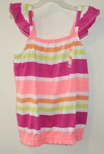 NWT Gymboree Bright and Beachy Striped Top Girl's Size 8