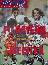 Programm 1998/99 FC Bayern München - Kaiserslautern