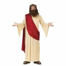 Jesus Christ Holy Man Religious Biblical Christmas Adults Fancy Dress Up Costume