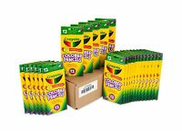 Crayola Colored Pencils 12 Each (Pack of 24) Pre-sharpened Assorted Colors Bulk