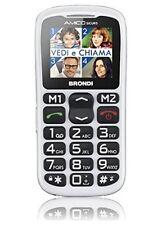 Brondi Amico Semplice Plus Cellulare DualSIM GSM Bluetooth Tasti Grandi 10273651