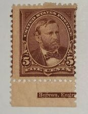 Travelstamps: 1895 Us Stamps Scott # 270 Mint Og H , Grant, 5 cents, Mogh