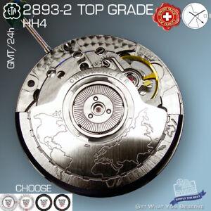 MOVEMENT AUTOMATIC ETA 2893-2 GMT, TOP GRADE, DATE, HH4,  FACTORY NEW
