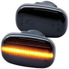 LED SEITENBLINKER schwarz für TOYOTA Corolla | Typ E10 | E11 | E12  [7732-1]
