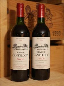 2 Fl. 1994er Chateau Canteloup - Medoc - TOP !!!!!