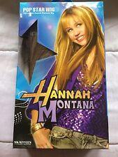 Hannah Montana Miley Cyrus Blonde Costume Wig  POP STAR WIG  Full Length NEW