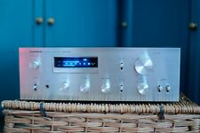 Pioneer SA 508 Stereo Integrated Amplifier. Classic Blue Line Flouroscan