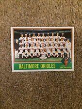 +++ ORIOLES 1976 TOPPS BASEBALL CARD #73 - BALTIMORE ORIOLES +++