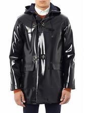 Maison Martin Margiela Coated Duffle Coat Jacket SIZE IT48 New Navy
