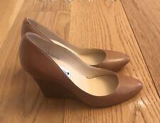 Jimmy Choo Tan Wedge Shoes 37