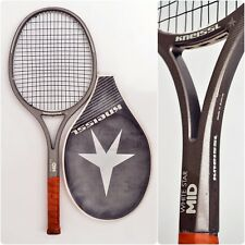 Kneissl WHITE STAR MID Graphite 80s vintage Tennis Racket with Head Cover 4.1/2