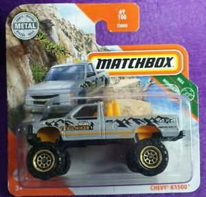 Matchbox 2020- Chevy K1500 ENVIO COMBINADO