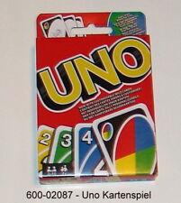 600-02087 - UNO Jeu de cartes Das Original Set table familienkartenspiel MATTEL