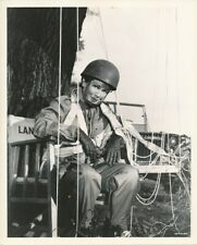 LANA TURNER Original CANDID Parachute Jumper Vintage 1953 BETRAYED MGM DBW Photo