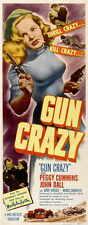 GUN CRAZY Movie POSTER 14x36 Insert Peggy Cummins John Dall Berry Kroeger Morris
