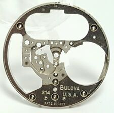 Vintage mens Bulova Accutron M4 214 spaceview watch movement part #13AX