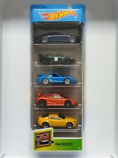 Hot Wheels rare super car HW Exotics 5 pack - Porsche, Aston Martin and others