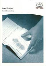 TOYOTA LAND CRUISER Betriebsanleitung 2008 Bedienungsanleitung Handbuch J12 BA