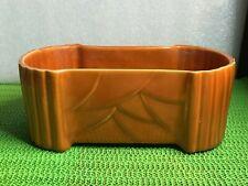 New listing Vintage McCoy Planter Fern Box 1940's~60's Orange