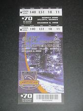 2008 SEC Championship Game Alabama vs Florida Ticket Official Reproduction