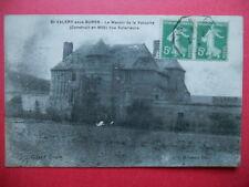 SAINT-VALERY-sous-BURES  :  Le Manoir de la Valouine......VO.1919.