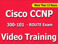 Cisco CCNP 300-101 ROUTE Exam Video Training Tutorial CBT - 12+ Hours