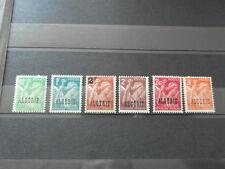 x6 timbres stamps briefmarken ALGERIE ALGERIA 1945 ** TYPE IRIS 6 valeur values