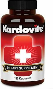 Kardovite 180 Capsules. Supports Circulation & Healthy Cardiovascular Function