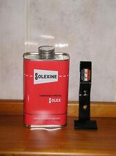 Solexine mit Halter- Benzindose bidon rot 1 Ltr. Velosolex SOLEX
