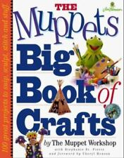 MUPPETS Big Book of Crafts Workshop Creative ART Carve Sew Weave Wood Clay Paper