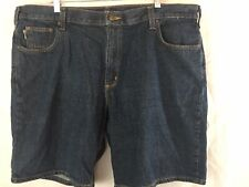 Carhartt Denim Blue Jean Shorts Size 40 Relaxed Fit 5 Pocket