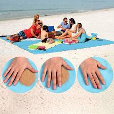 Serviette de plage sans sable Portable serviettes de plage anti-dérapant tapis