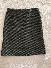 NWOT Worth of NY Multi Color Tweed Skirt Size 8