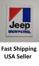 **LOVE IT OR ITS FREE**Jeep Snow Patrol Patch  Iron on Embroidered Patch