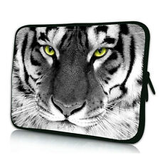 """Tiger Face 11.6"""" 12"""" Laptop Sleeve Bag Portable Cover Case For Lenovo Samsung HP"""