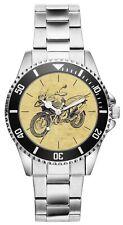 KIESENBERG® Uhr 20226 mit Motorrad Motiv für BMW R1200GS Fahrer