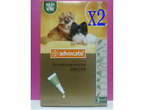 Advocate For Dogs Kit Small Up to 4 kg 6 Tubes Flea & Lice Treatment Exp.10/2018
