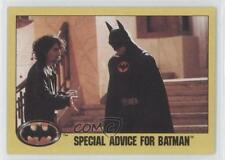 1989 Topps #241 Special Advice for Batman Non-Sports Card 0i1
