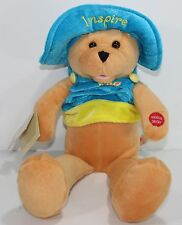 "Chantilly Lane 17"" Connie Talbot Inspire Bear ""You Raise Me Up"" Plush Stuffed"