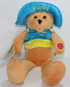 "Chantilly Lane 17"" Connie Talbot Inspire Bear ""You Raise Me Up"" Plush Stuffed"