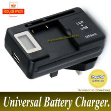 UNIVERSAL EXTERNAL OUTPUT BATTERY CHARGER WITH LCD DISPLAY FOR MOBILE PHONE/PDAS