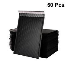 50x Padded Bubble Parcel Mailing Envelopes Pouch Postal Bags Black