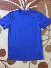 Nike Dry Fit Men's Size Small Blue Shirt