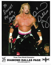 Diamond Dallas Page Authentic Signed 8x10 Photo Autographed, WWE, Wrestling