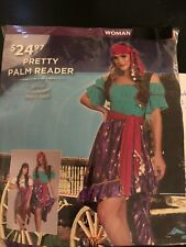 Halloween Costume Woman's Pretty Palm Reader XSmall or Small New