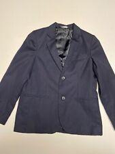 Navy Blue Boy's Lined Blazer From Cherokee Size 8