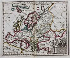 Original antique map EUROPE 'SUMMA EUROPAE ANTIQUAE DESCRIPTIO', Cluver, c.1697
