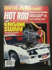 HOT ROD MAGAZINE October 1982 Chevrolet, Camaro, Plymouth, Pontiac